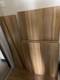 John Lewis Abacus Small Desk Oak