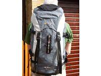 Vango 45ltr rucksack for sale