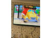 65 inch toshiba tv (crack)