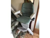 Stannah stairlift and track
