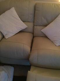 Cream sofa SOLD