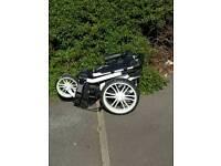 Stewart 3 wheel golf trolley