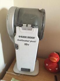 Black & decker cordless handheld vacuum cleaner