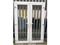 Set of upvc French doors