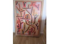 Paul Klee - Large Professionally Framed Print - Park in Lucerne