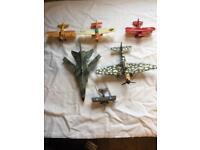 Dinky and Corgi planes