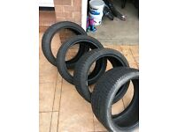 BMW winter premium tyres staggered fitment 18inch