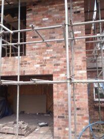 Reclaimed Cheshire bricks, Staffordshire bricks, also loads of old roof slate, ridge tiles etc.