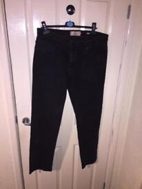 Black mens next jeans 34reg