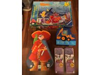 Selection of 4 puzzles for children aged 4-6