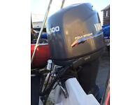 Yamaha f100 mariner 90 fourstroke outboards