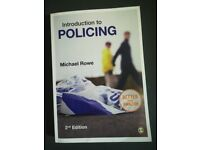 Introduction to policing. Rowe. Cambridge