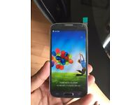 Samsung galaxy S4 unlocked .GRAY COLOUR.MINT CONDITION.