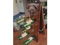 PP Rustic wine rack