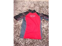 The Wetsuit Factory, Liskeard. Size M (teenager) surf vest. To go under wetsuit. Worn a couple of t