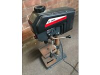 Woodwise variable speed pillar drill.