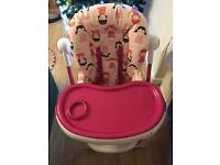 Cosatto Dolly Print High Chair