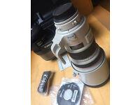 Canon 200mm f2 lens