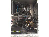 GAMING PC WINDOWS 10 20 GB RAM 500GB SSD + 500 GBHDD NVIDIA 660TI INTEL I5 DESKTOP COMPUTER TOWER