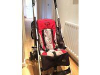 Hauck Sport Stroller (red & black)