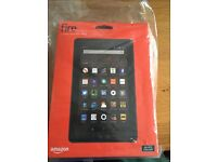 Amazon Fire Tablet - Brand New, Unopened, with case and 32GB microSD card
