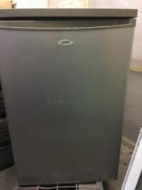 Under counter fridge grey