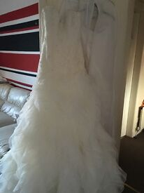 ***Never worn Sophia tolli gown