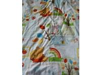 Winnie the pooh cot quilt cover