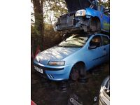 2003 FIAT PUNTO 1.2 PETROL BREAKING FOR PARTS