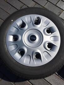 4 MINI WHEELS WITH MICHELIN 175/65 R15 TYRES - BRAND NEW
