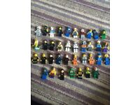 Lego Mini figures assorted. Star Wars, China, avengers, ninja turtles, batman