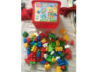 Massive box Mega Bloks and animals