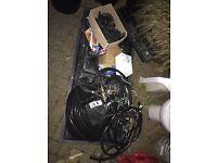 Hydroponics, Auto feeding equipment, IWS fittings and pipe, heating etc etc