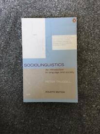 Sociolinguistic book