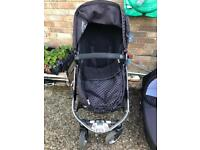 Icandy Apple push chair and carry cot
