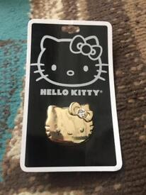 Brand new hello kitty ring