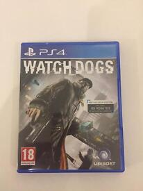 PS 4 WATCHDOGS