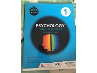 OCR a level Psychology textbook
