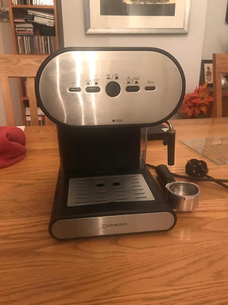 Cookworks filter ground coffee machine