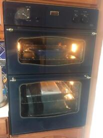 Double oven and grill and hob