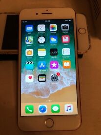 IPhone 6s rose gold 16gb unlocked with receipt