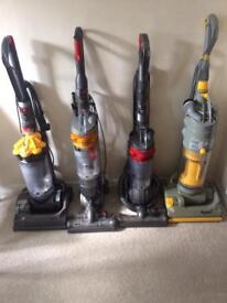 Dyson Hoovers serviced + 3 months warranty
