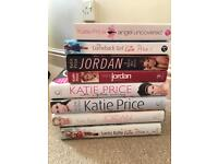 Katie Price book collection