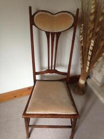 Lovely antique sewing chair