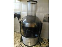 Philips HR1867/21 Viva Collection Quick Clean Juicer - Brushed Aluminium in excellent condition
