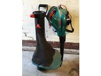 bocsh leaf blower and vacum els2500 model