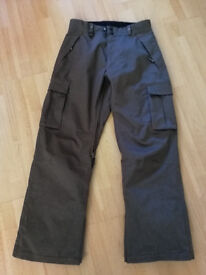 "Moah Winter Sports/Skiing/Snowboarding Pants - Small (~30"" waist)"