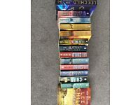 lee child , jack reacher novels.14 books