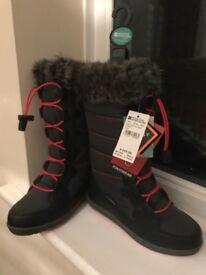 Kids Waterproof Snow Boots (New)