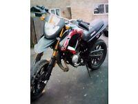 50cc keeway supermoto, £625 ovno